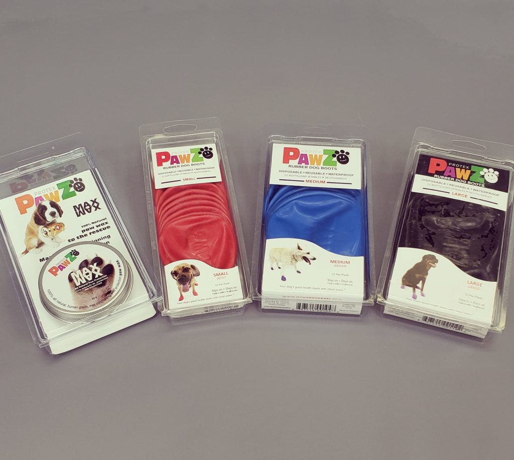 PawZ paw covers and paw wax